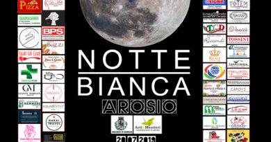 1° Notte Bianca si accende in Arosio..scopri il programma e chi parteciperà!